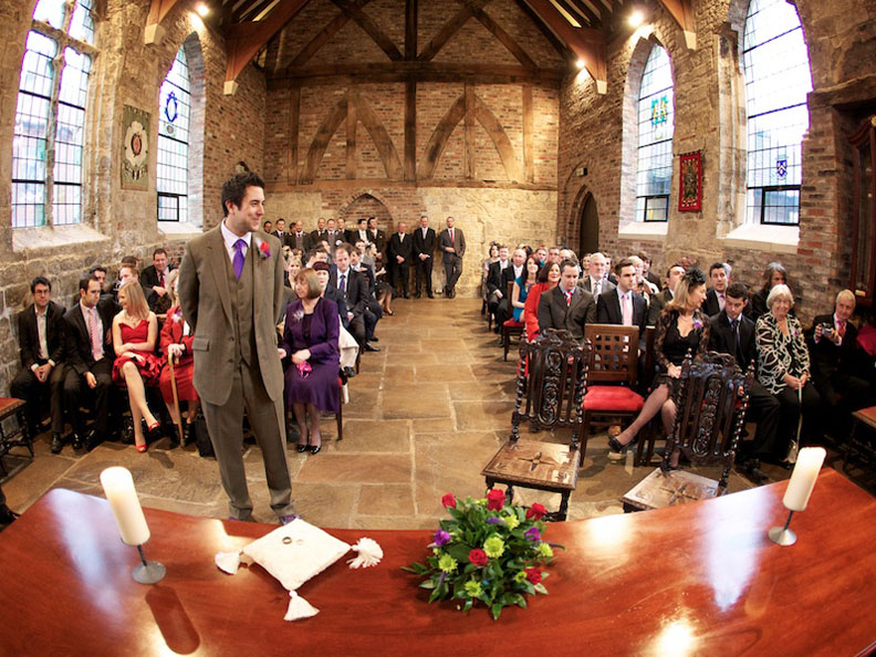 Wedding at Bedern Hall