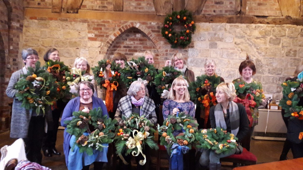 bedern-hall-wreath-making