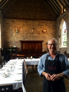 Roger chef at Bedern Hall York